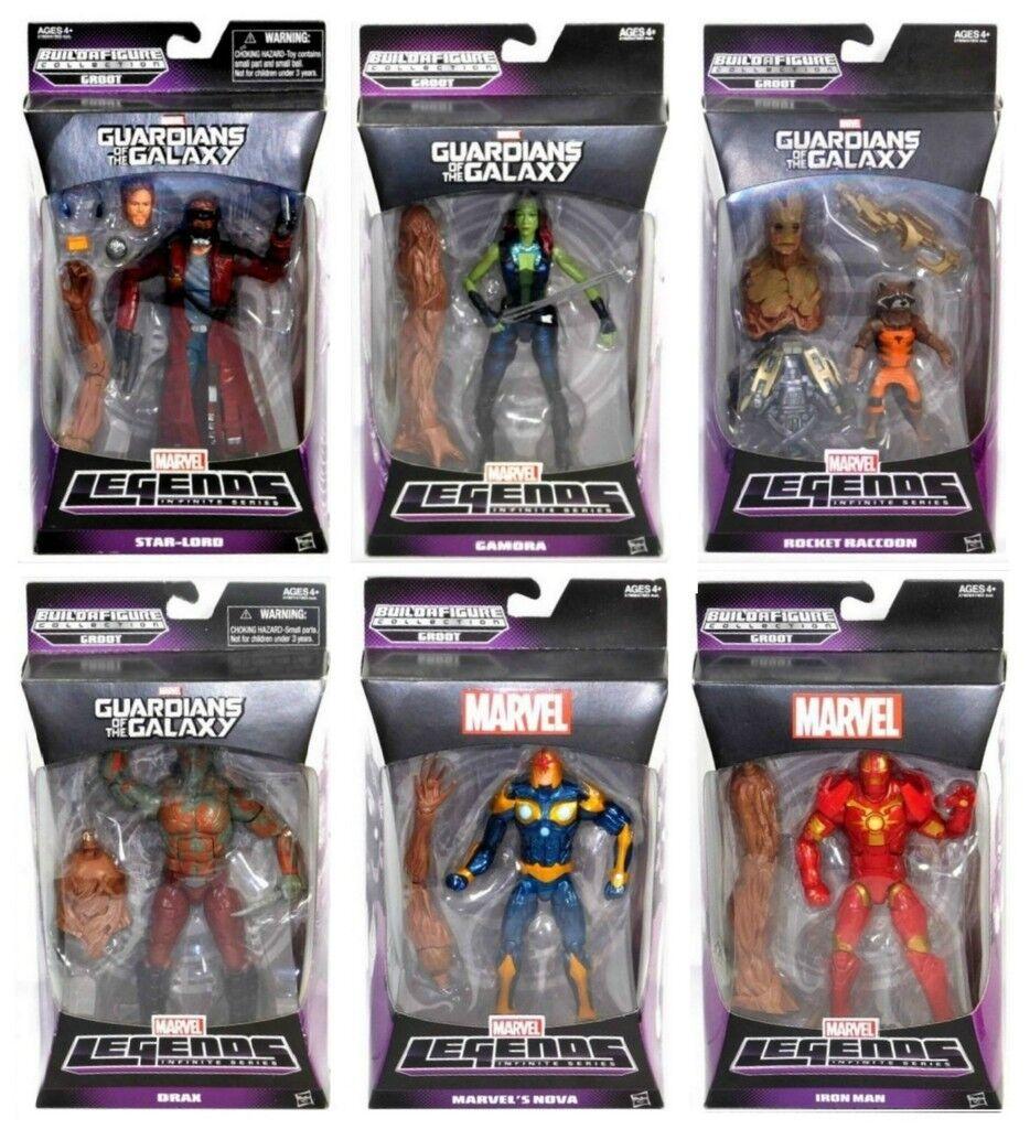 förundras Legends Infinite Series Groot BAF Guardians of the Galaxy 6 Fight Set