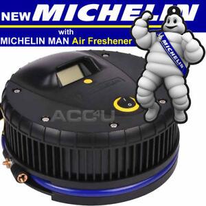 2018 michelin 12259 12v pneu voiture v lo gonfleur compresseur air avec ebay. Black Bedroom Furniture Sets. Home Design Ideas