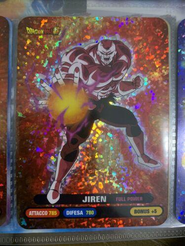 No 140 jiren-Dragon Ball universe Survival diramix Lamincard Super No Edibas