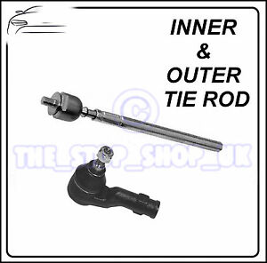 Vauxhall-Corsa-C-Combo-Corsa-Van-Inner-amp-Outer-Tie-Rod-End-Steering-Track-Rod