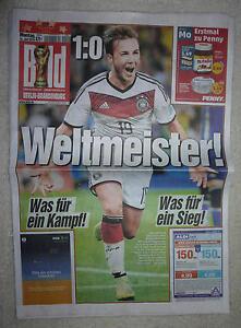 Bild Zeitung Sport Fussball