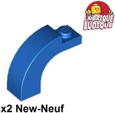 Arch 1 x 3 x 2 Curved Top 6005 NEUF X2 Green Brick LEGO