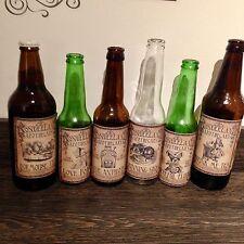 Alice In Wonderland Vintage Bottle Labels - Set Of 12 Large
