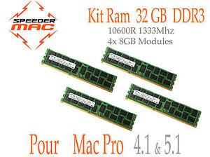 Memoire-32-GB-4x-8GB-DDR3-ECC-1333MHz-Mac-Pro-2009-2010-2012-4-1-5-1