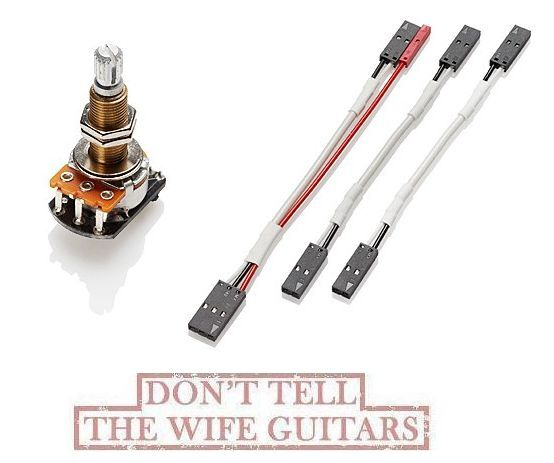 emg 25k volume pot split long shaft solderless ebay rh ebay com