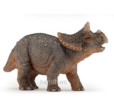 Papo 55036 Young Triceratops Prehistoric Dinosaur Model Toy - NIP