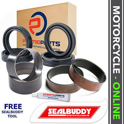 Kawasaki ZX600 (ZX-6R) 95-97 Fork Seals Dust Seals Bushes Suspension Kit