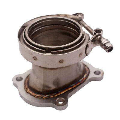 adaptador de banda en V de 2.5 pulgadas para turbocompresor CT26 Duokon CT26 Brida de turbocompresor de bajada