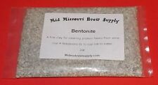 Bentonite 2oz., Bentonite For Wine Making FREE SHIPPING!!!