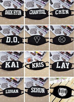 Cool Stylish EXO EXO-M EXO-K WOLF KAI BAEKHYUN XIUMIN MASK KPOP GOODS AU FT
