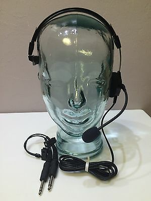 BNIB TELEX AIRMAN 750 SINGLE w/ dual plugs p/n 64300-300 ...