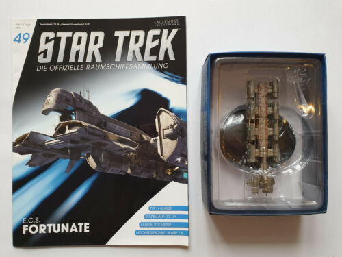 Star convoi vaisseau collection Nº 49 E.C.S Fortunate NEUF