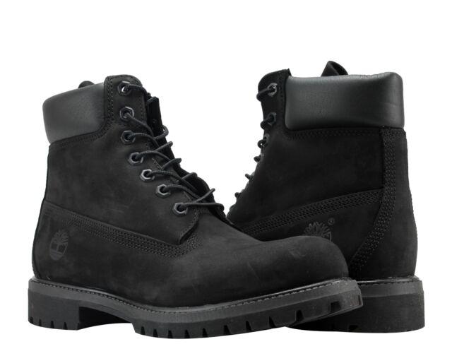 Timberland Men's Boot 6 Inch Premium 10073 Black Nubuck Size 13 for sale  online | eBay