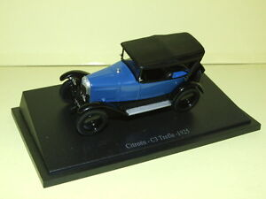 citroen c3 trefle bleu 1925 universal hobbies sans boite ebay. Black Bedroom Furniture Sets. Home Design Ideas