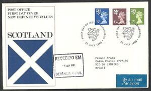 1980 Gb Fdc Scotland New Definitive Values - 006 Remise GéNéRale Sur La Vente 50-70%