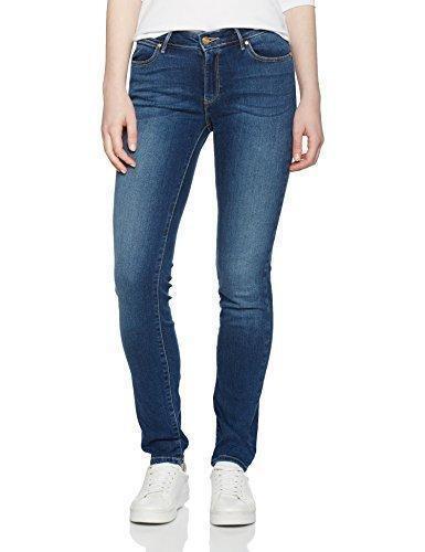 Damen Wrangler Slim Fit Jeans Original Blau