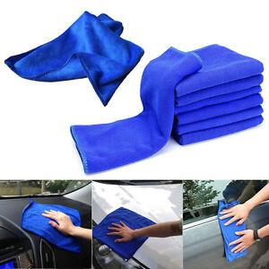 10Pcs-Lavado-De-Cocina-Toalla-de-Microfibra-Limpieza-Auto-Coche-Hogar-Lavado-Pano-limpio-Azul