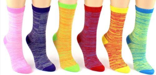 EROS Everyday Basics Women/'s Novelty Crew Socks Size 9-11 Lined Patterns