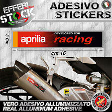 Adesivo/Sticker AKRAPOVIC APRILIA RACING RSV4 RF 125 250 TUONO DORSODURO 200° G