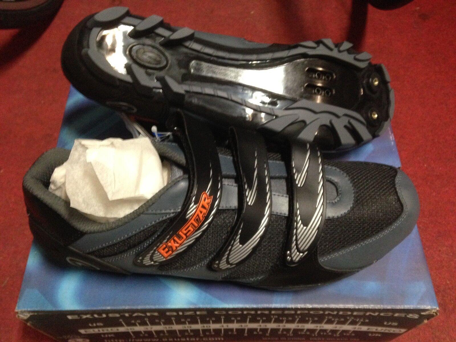 Schuhe Fahrrad MTB Exustar E-SM601 Radfahren Mountain Bike Shoes 41 46