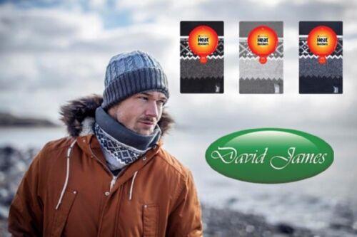 LARVIC Mens GENUINE Thermal Winter Warm Heat Holders Neck Warmer GOTHENBURG