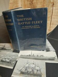 Fred T Jane  - The British Battle Fleet, Its Inception and Growth - 1914