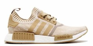 finest selection 90507 71c54 Image is loading Adidas-NMD-R1-PK-Linen-Khaki-Off-White-