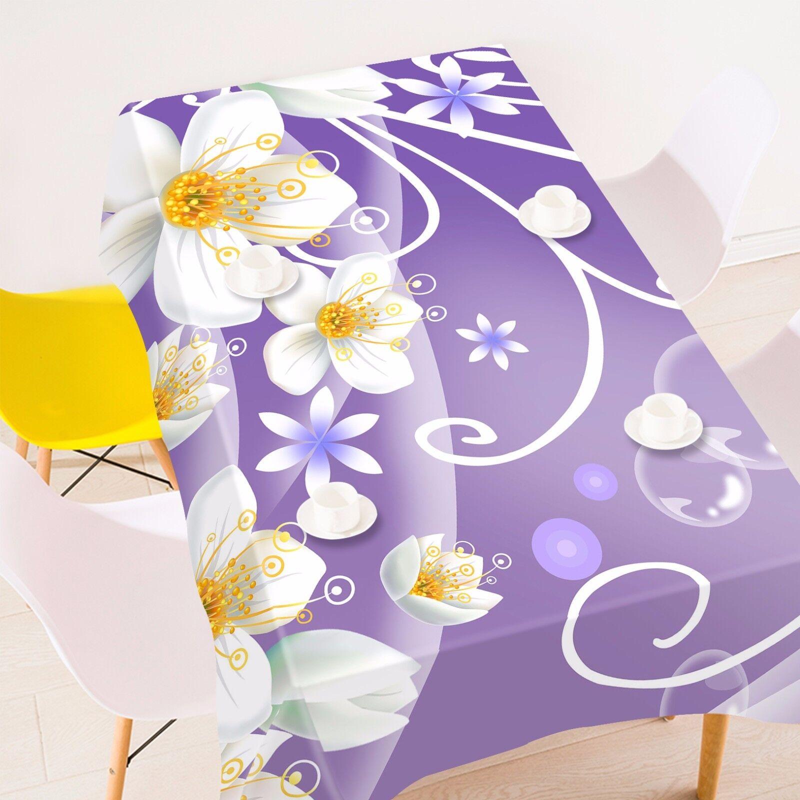 3D pétales 45 Nappe Table Cover Cloth fête d'anniversaire AJ papier peint Royaume-Uni Citron