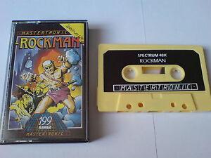 Rockman-mastertronic-zx Spectrum 48k-afficher Le Titre D'origine