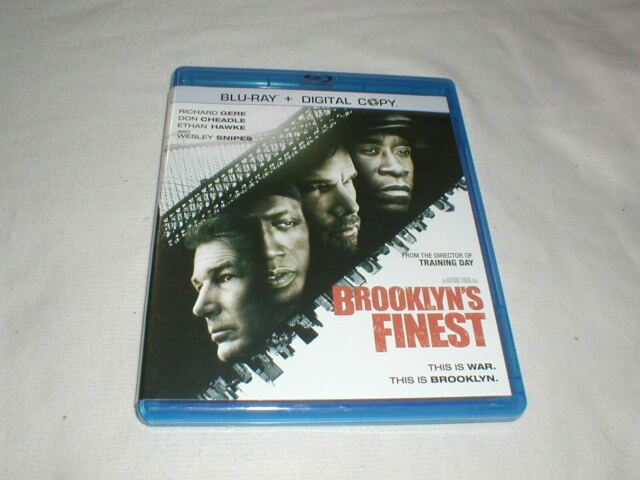 Brooklyn's Finest (2010) BLU-RAY Richard Gere Don Cheadle Wesley Snipes