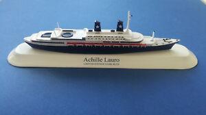 Maquette de bateau Achille Lauro Ex Willem Ruyslimited «Bleu foncé» échelle 1: 1250