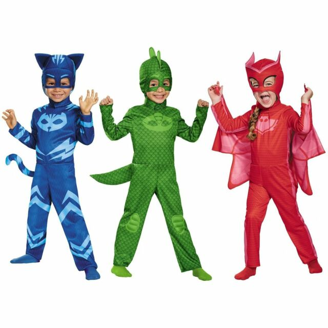 Disguise Gekko Classic Toddler PJ Masks Costume - Large 4 6 for sale online   e753c2979