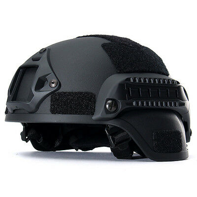 MICH2000 Casque Militaire Airsoft Tactique SWAT Paintball Sécurité Protection