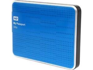 2019 DernièRe Conception 2x Bleu 1 To Western Digital My Passport Ultra Disque Dur Portable Usb 3.0 Wd-afficher Le Titre D'origine