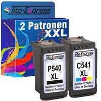 2 Druckerpatronen für Canon PG540 & CL541 XL Pixma MG3550 MG4250 MX375 MX435