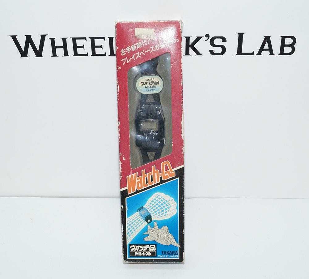 F-15 Eagle Starscream New Watch-Q Wrist Watch Takara Diaclone G1 Transformers