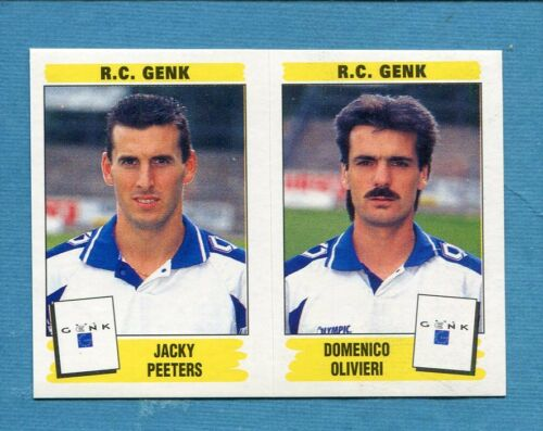 FOOTBALL 96 BELGIO Panini -Figurina-Sticker n. 413 - R.C. GENK -New