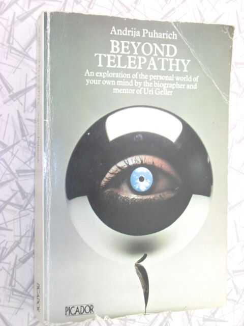 Beyond Telepathy by Andrija Puharich 1975 ESP Astral Projection Clairvoyance