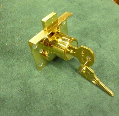 Mills Slot Machine Parts Reproduction back door spring lock W plate /& screws