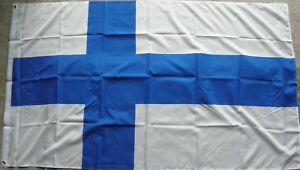 3/'x5/' Large Polyester Flag Finland NEW