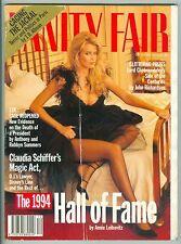 VANITY FAIR DEC 1994 CLAUDIA SCHIFFER J.F.K. DEATH LIAM NEESON BRIGITTE BARDOT