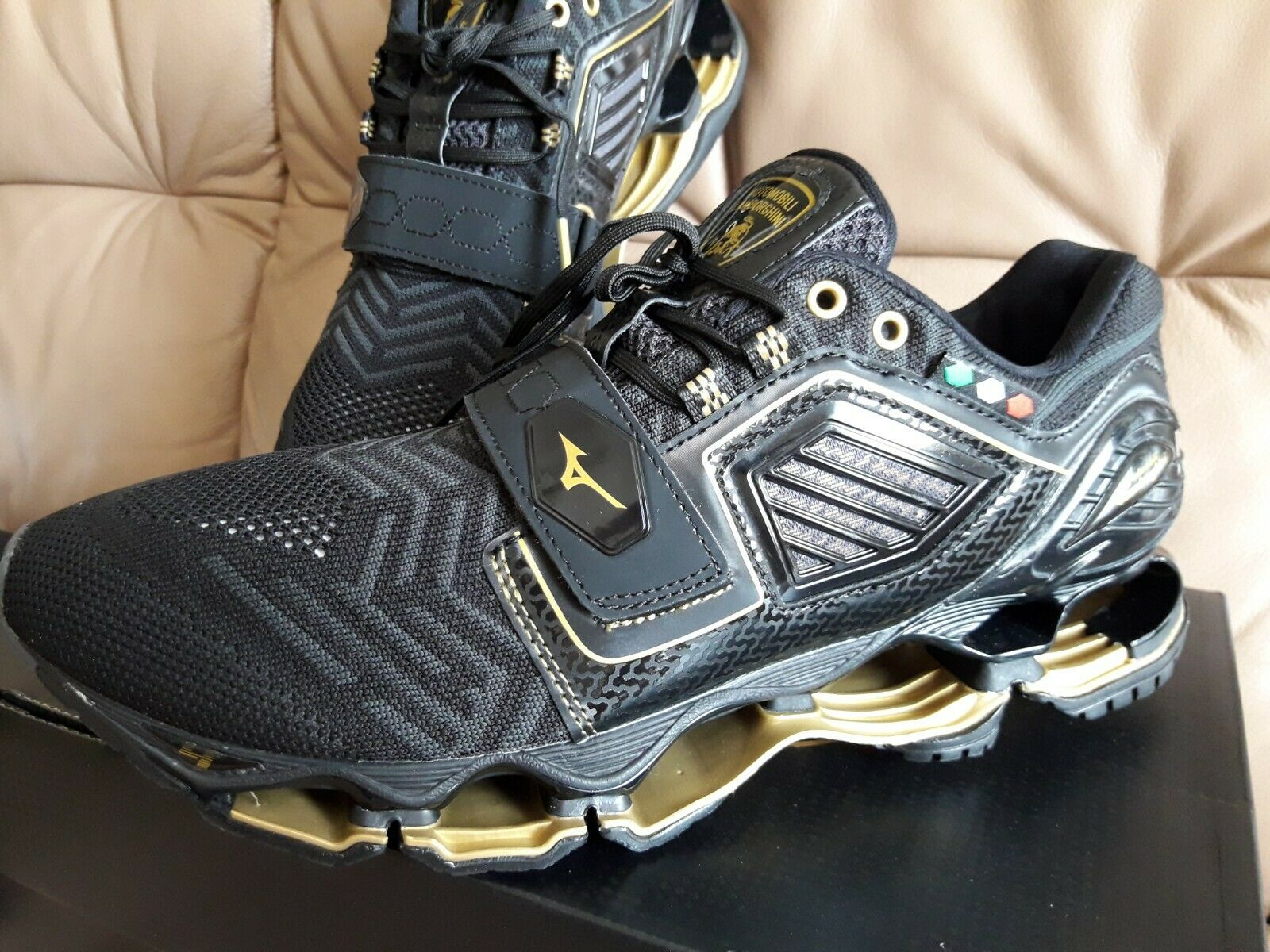 Mizuno Wave Tenjin 4  Lamborghini J1GC196751 Men's Running Running shoes Size 45  all in high quality and low price