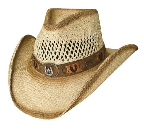 NEW Bullhide Hats 2569 Sassy Cowgirl Collection Lucky Strike Natural Cowboy Hat