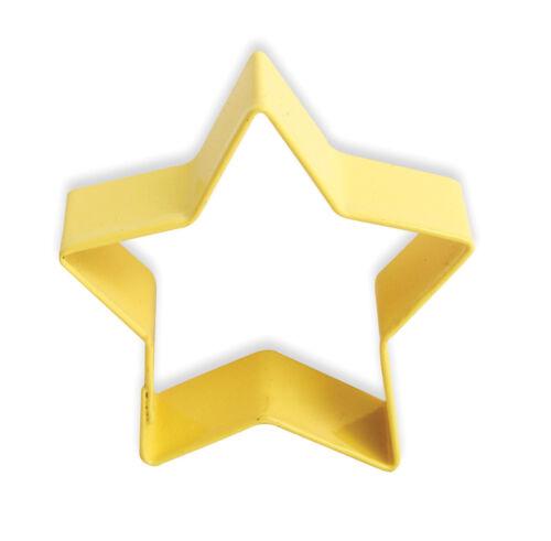 Eddingtons Emporte-pièce étoile jaune-pâtisserie biscuit cutter /& métal 7cm