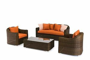 NEW-Outdoor-4-Piece-High-Quality-Rattan-Wicker-Sofa-Lounge-Set