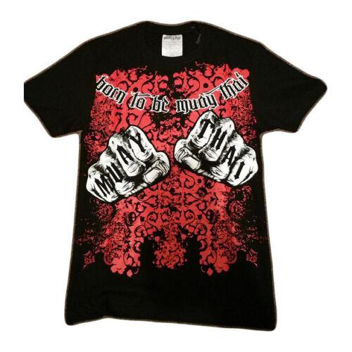 Muay Thai Premium T-Shirt Knuckles Design Muay Thai Boxing Fight Tshirt