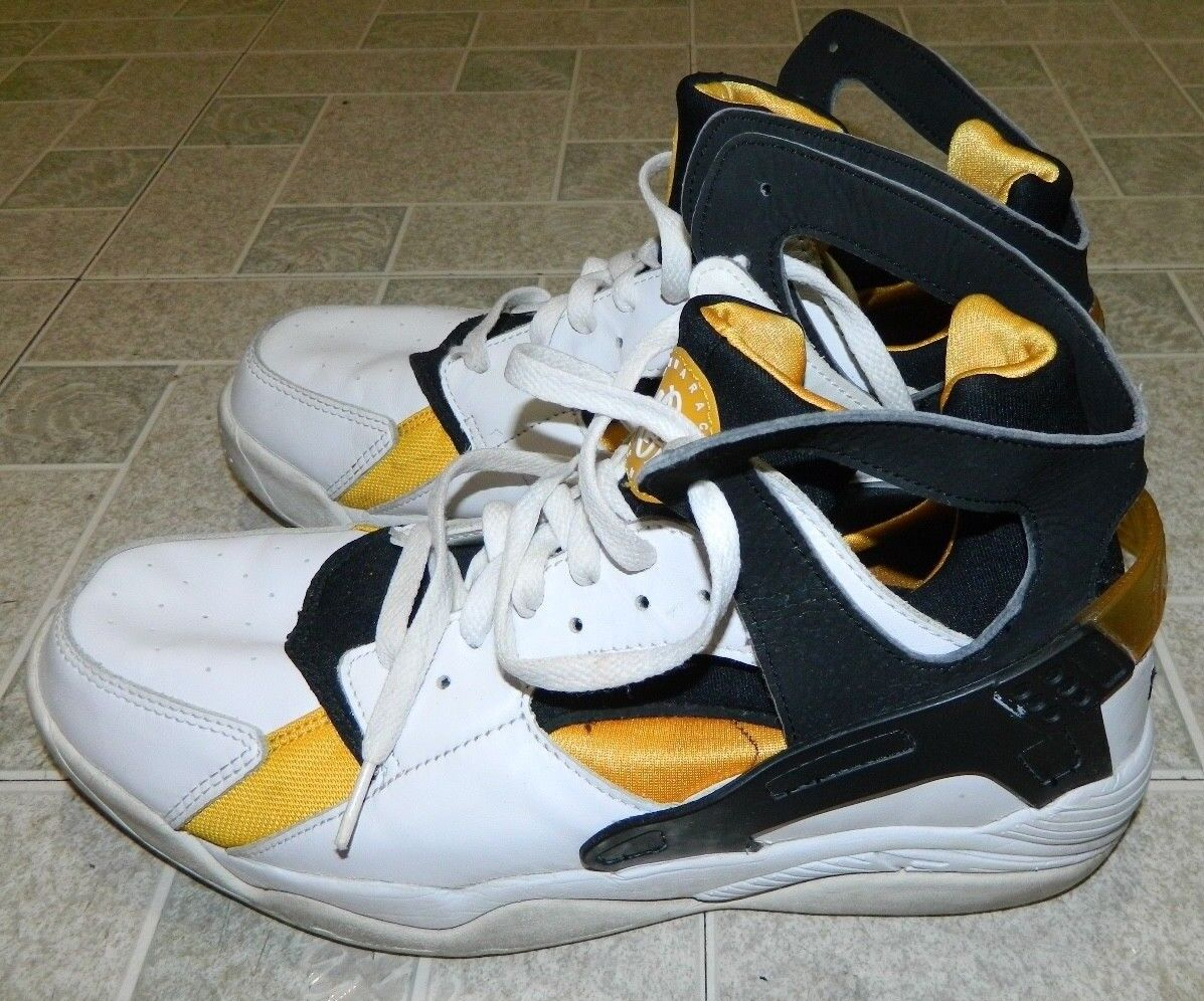 VTG OG 2004 Nike Air Huarache Basketball shoes size 12 Rare