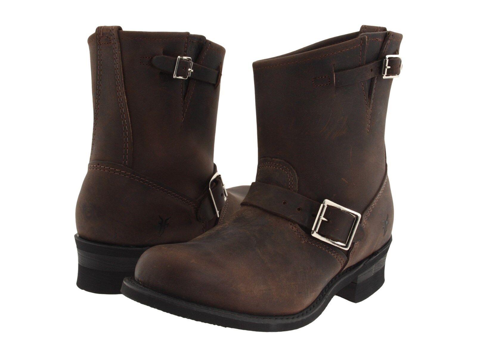 Para Mujer Frye botas 77500 GAL Ingeniero 8r 8r 8r Gaucho marrón  100% garantía genuina de contador