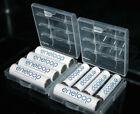 2 x Hard Plastic Case Holder Storage Box AA AAA Battery B77U