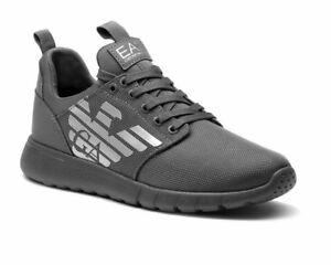 304859051a99 Emporio Armani Sneakers X8X008 XK008 EA7 Mens Trainers Grey Gym ...